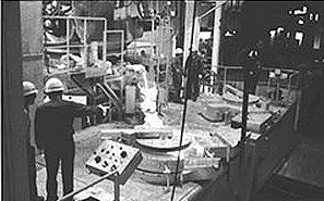 6 tonnes pr hr in Japan duplexing through two 3 tonne coreless induction furnaces