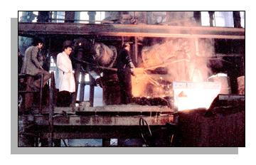 metal being converted to ductile iron without desulphurisaton